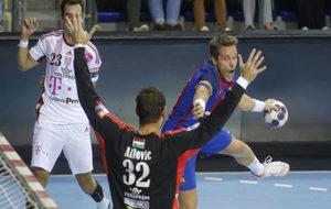 Víctor Romás en un encuentro de la temporada pasada ante el...
