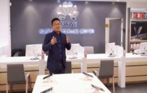 Presentación del primer espacio de atención al cliente de Huawei...