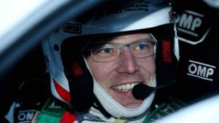 Latvala, ganador del 'shakedown' del Rally de Suecia