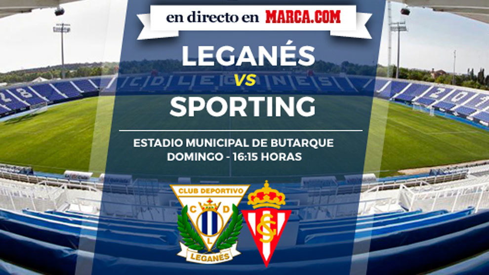 Leganés vs Sporting en directo