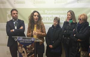 Beatriz Palomeque en el acto de presentación del homenaje que tendrá...