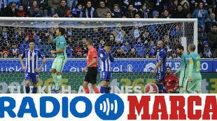 Gol del FC Barcelona en Mendizorroza