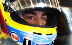 Alonso, durante el pasado Gran Premio de Abu Dabi.