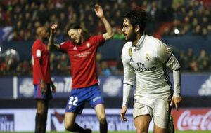 Isco marcó el gol de la victoria del Real Madrid, que le permite...