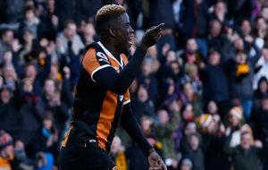 N?Diaye celebra el único tanto que ha marcado con su nuevo club