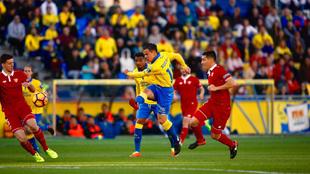 El Sevilla se llevó los tres puntos de su visita a Canarias