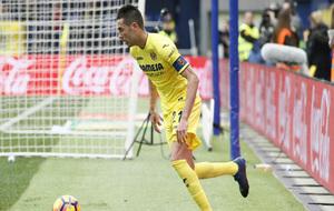 Bruno durante el partido frente al Málaga.