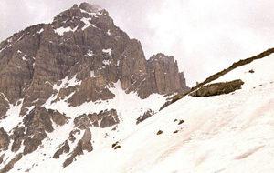 Imagen de archivo de los alpes franceses