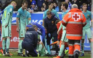 Aleix Vidal se lesion� de larga duraci�n ante el Alav�s