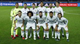 El once del Real Madrid en la final del Mundial de Clubes