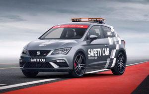 El Seat León Cupra 2017 es el nuevo Coche de Seguridad del Mundial de...