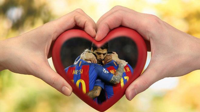 El tridente del Barça vive una 'relación de amor' con el podio de...
