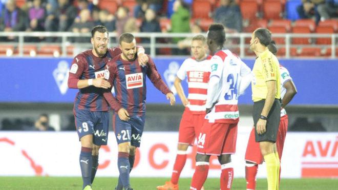 El Eibar logró la segunda mejor puntuación colectiva de LaLiga...
