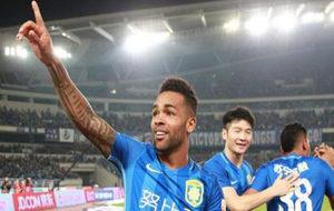 Alex Texeira es un jugador brasileño que juega en la Superliga China.
