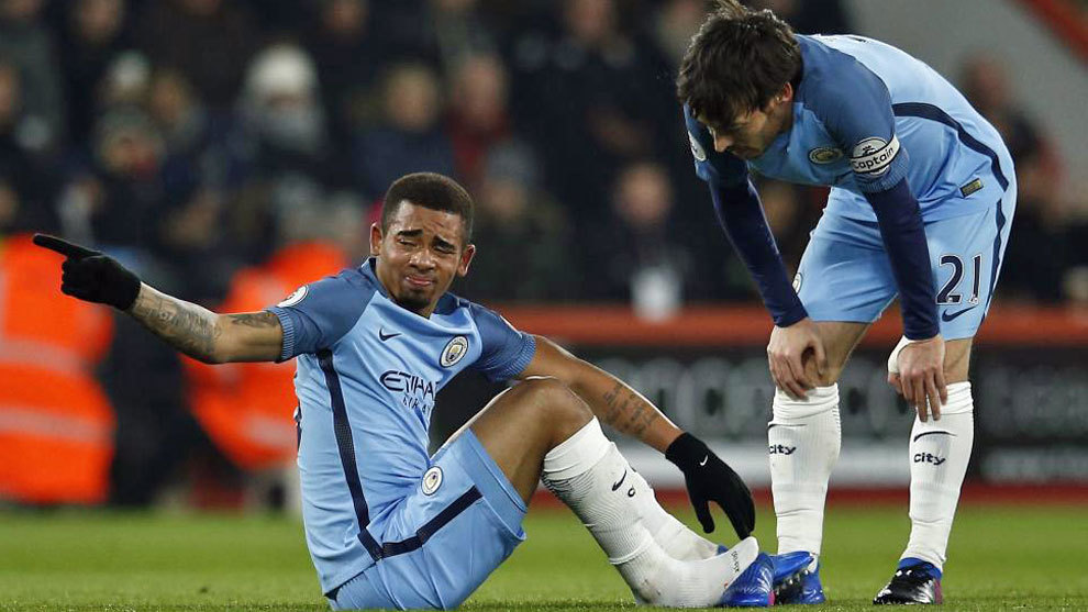 Manchester Citys Gabriel Jesus Breaks Bone In Foot Marca In English