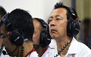 Yusuke Hasegawa, en el GP de Singapur de 2016.