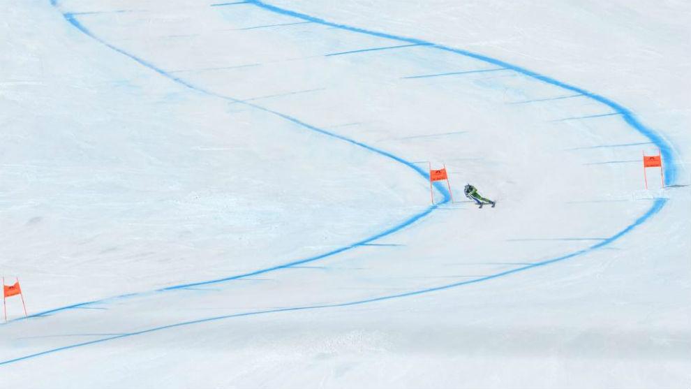 Foto genérica de una pista de esquí.