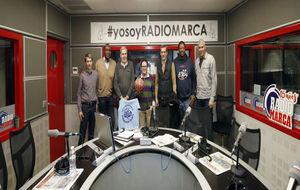 Presentación de la Copa Colegial en Radio MARCA