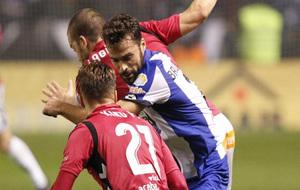 Imagen del partido de Copa.