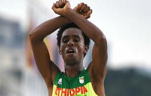 Lilesa entra en meta en los Juegos de Río 2016