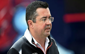 Eric Boullier, director ejecutivo de McLaren
