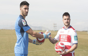 Rui Silva, junto a Héctor Hernández, durante la presentación de...