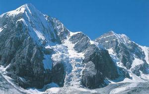 Panorámica de Los Alpes.