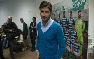 Víctor Sánchez del Amo, antes de empezar la rueda de prensa.