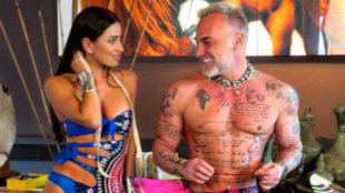 Gianluca Vacchi y su mujer Giorgia Gabriele
