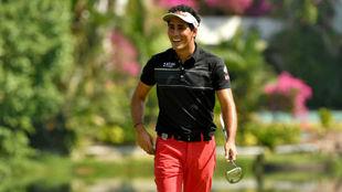 Carlos Pigem, durante el Myanmar Open que ganó el pasado mes de...