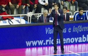 Duda, durante un partido con ElPozo Murcia.