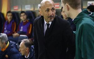 Spalletti en un momento del partido.