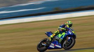 Rossi, en Australia.