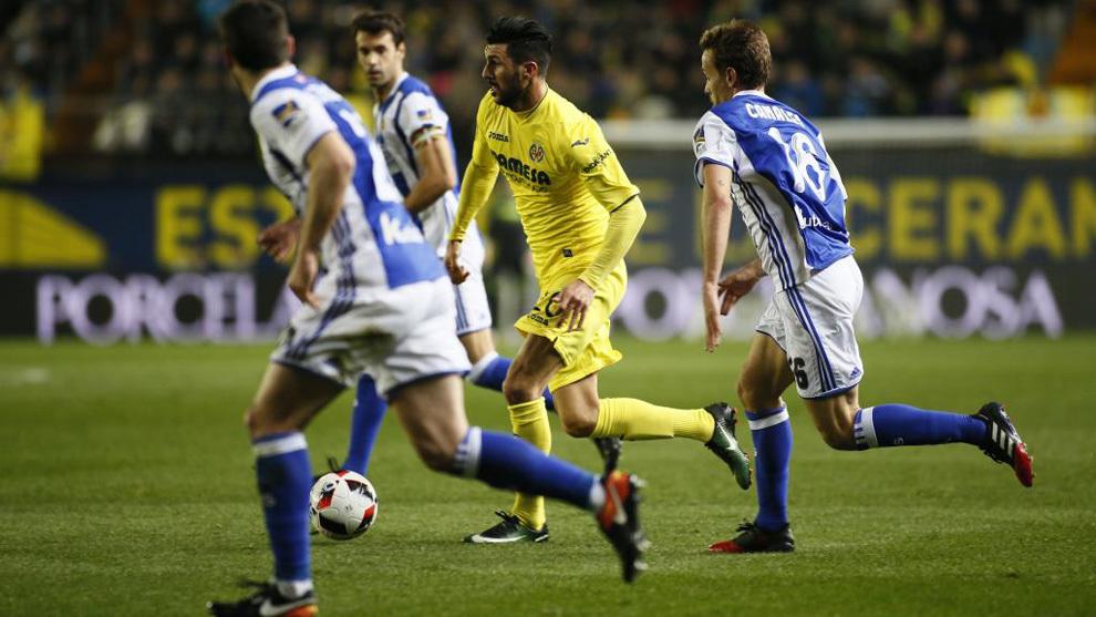 Villarreal y Real Sociedad, en octavos de Copa el pasado enero.