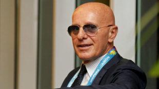 Arrigo Sacchi, durante una entrevista con MARCA.