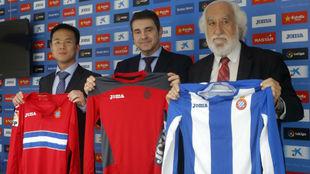 Mao Ye, Josep Salom y Josep Maldonado.