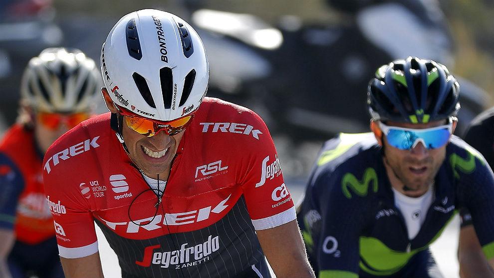 Valverde y Contador.
