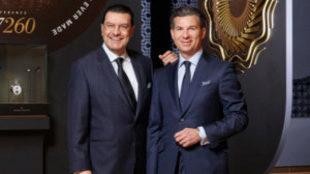 De izquierda a derecha: Juan Carlos Torres y Louis Ferla