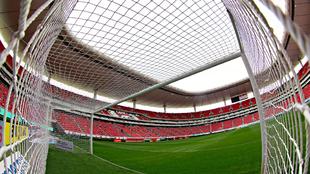 Es estadio Omnilife de Chivas que será escenario este sábado del...