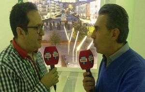 Vicente Ortega entrevista a Sergio Scariolo en Vitoria