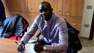 Sissoko firma su contrato como jugador del Ternara Calcio