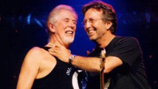 John Mayal y Eric Clapton