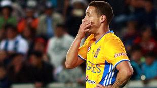 El jugador de Tigres sufrió las consecuencias de la impotencia de los...
