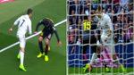 La elástica con caño de Cristiano puso en pie al Bernabéu