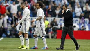 Quique, tras el encuentro ante el Real Madrid