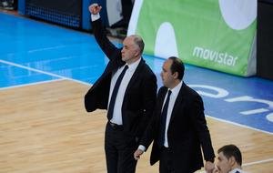 Pablo Laso durante la semifinal de Copa ante el Baskonia