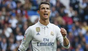 Cristiano, en el duelo ante el Espanyol