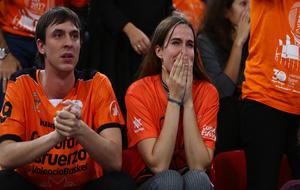 Disfruta de las mejores imágenes del triunfo del Valencia Basket ante...