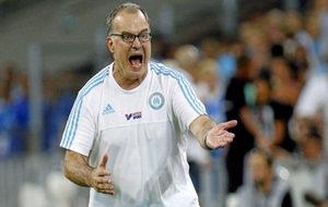 Bielsa, en su etapa como entrenador del Marsella