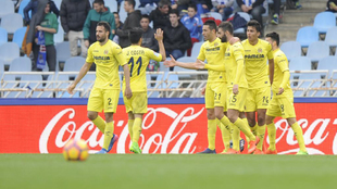 El Villarreal mató dos pájaros de un tiro ante un rival directo por...